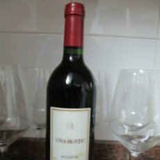 Collezionismo di vini e liquori: VINO VIÑA OLVIDO RESERVA 2002 DE BODEGAS ALLENDE RIOJA. Lote 179169106