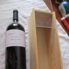 Coleccionismo de vinos y licores: BOTELLA VINO QUINTA DO SPIRITO SANTO - RESERVA 2010 1,50 LITROS EN CAJA DE MADERA . Lote 180038918