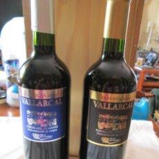 Coleccionismo de vinos y licores: BOTELLAS DE VINO 2 VALLARCAL RIBERA DEL GUADIANA , RESERVA 2004 Y CRIANZA 2004. Lote 180039203