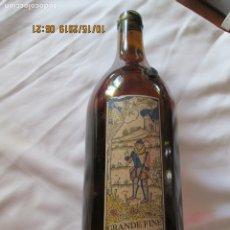 Coleccionismo de vinos y licores: BOTELLA GRANDE FINE ARMAGNAC AÑOS 70 PALLA EAUZE 1,50 LITROS . Lote 180188892