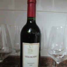 Collezionismo di vini e liquori: VINO VIÑA OLVIDO RESERVA 2002 FINCA ALLENDE RIOJA. Lote 180248373