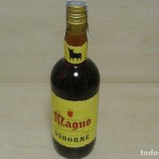 Coleccionismo de vinos y licores: BRANDY DE JEREZ , MAGNO , OSBORNE . Lote 180278213