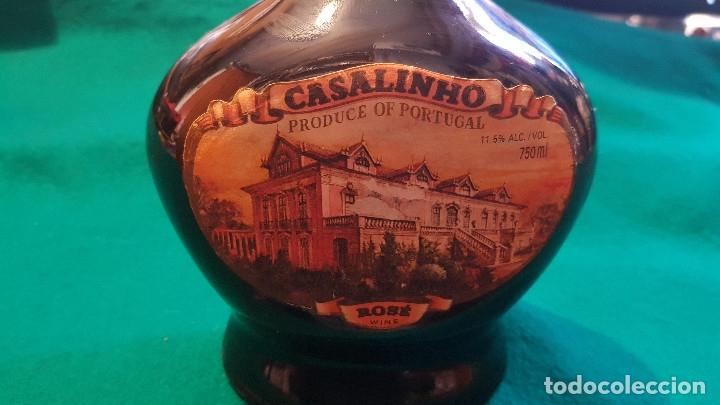 Coleccionismo de vinos y licores: VINO CASALINHO ROSADO 750 ML. REGION DE BEIRAS PORTUGAL (SIN ABRIR) WINE ROSE - Foto 2 - 181396121