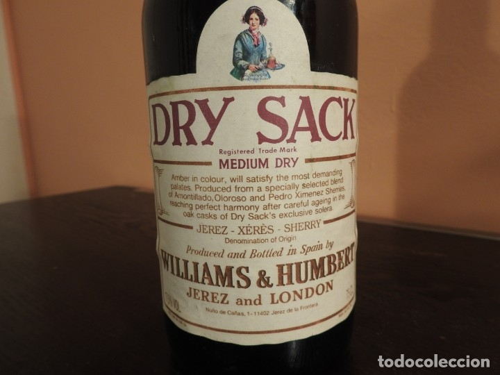 Dry Sack Sherry Williams Humbert Jerez And Lon Buy Collecting Wines Liqueurs And Spirits At Todocoleccion 181610372