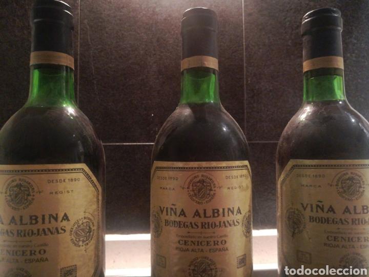 Coleccionismo de vinos y licores: VIÑA ALBINA 1970 3 botellas - Foto 4 - 182037052
