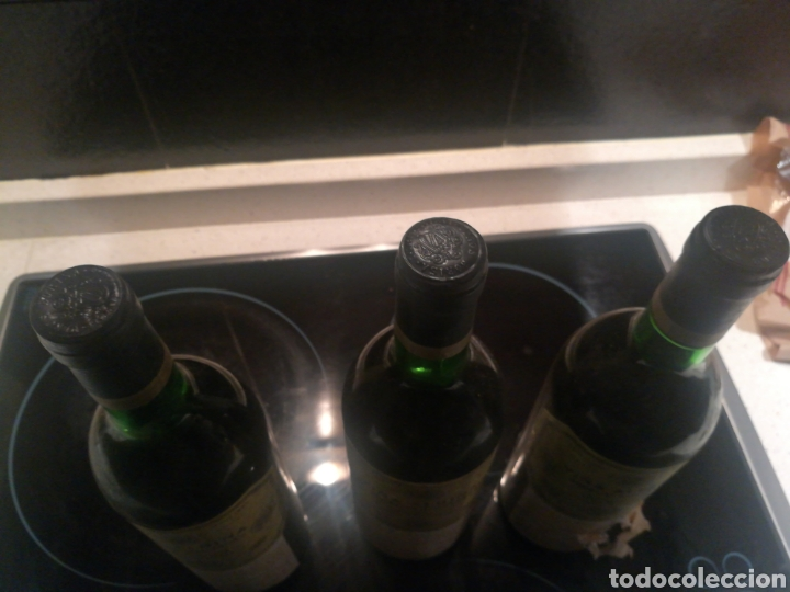 Coleccionismo de vinos y licores: VIÑA ALBINA 1970 3 botellas - Foto 5 - 182037052