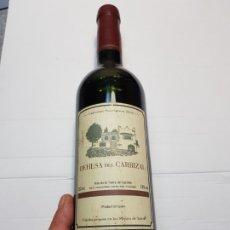 Coleccionismo de vinos y licores: BOTELLA VINO CABERNET SAUVIGNON (DEHESA DEL CARRIZAL) 2001. Lote 182060786