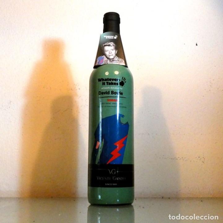 VINO DAVID BOWIE - SHIRAZ - RED WINE (Coleccionismo - Botellas y Bebidas - Vinos, Licores y Aguardientes)