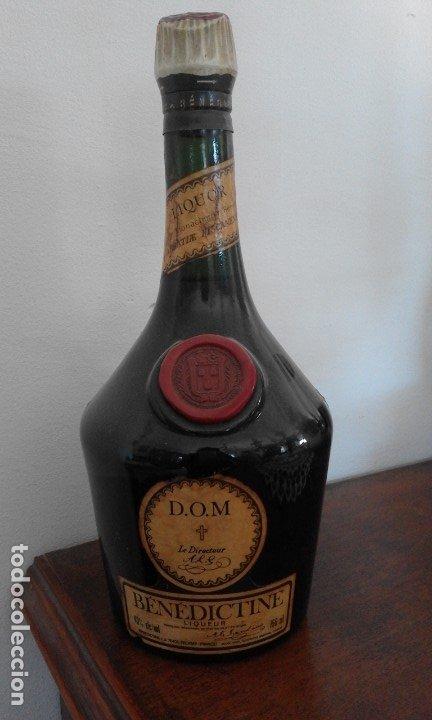 BOTELLA BENEDICTINE (Coleccionismo - Botellas y Bebidas - Vinos, Licores y Aguardientes)