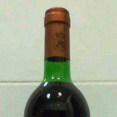 Coleccionismo de vinos y licores: BOTELLA VINO TINTO RIOJA MARQUES DE MURRIETA ETIQUETA BLANCA COSECHA 1982. Lote 182563100
