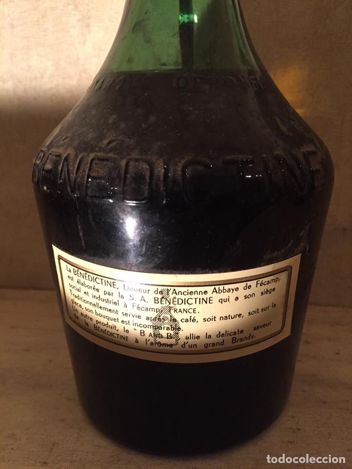 Coleccionismo de vinos y licores: Benedictine - Foto 2 - 182621643
