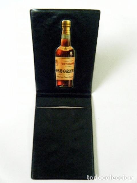 Coleccionismo de vinos y licores: LIBRETA OSBORNE MAGNO VETERANO. - Foto 3 - 182912812