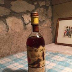 Coleccionismo de vinos y licores: ANTIGUA BOTELLA DE VINO TINTO MARCA MONTE REAL BODEGAS RIOJANAS CENICERO AÑO 1974. Lote 182914847