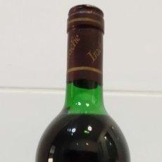 Coleccionismo de vinos y licores: BOTELLA VINO TINTO NAVARRA GRAN IRACHE COSECHA 1985. Lote 182993591