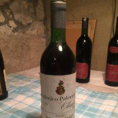 Coleccionismo de vinos y licores: ANTIGUA BOTELLA DE VINO TINTO MARCA FEDERICO PATERNINA OLLAURI RIOJA FINO AÑOS 80 . Lote 183025805