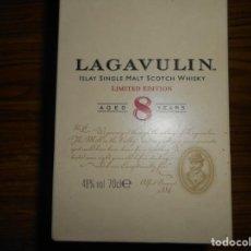 Coleccionismo de vinos y licores: LAGAVULIN 8--EDICION 200 AÑOS. Lote 183368782