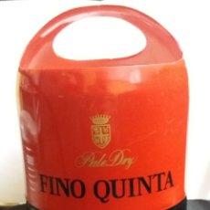 Coleccionismo de vinos y licores: CUBITERA PUBLICIDAD DE OSBORNE FINO QUINTA VINTAGE. Lote 184419766