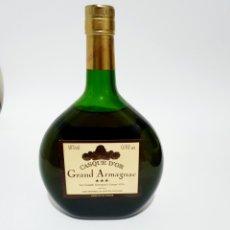 Coleccionismo de vinos y licores: BOTELLA CASQUE D'OR GRAND ARMAGNAC 3 ESTRELLAS 0.70L. Lote 184583955