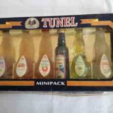 Coleccionismo de vinos y licores: TUNEL MINIPACK. Lote 185691982