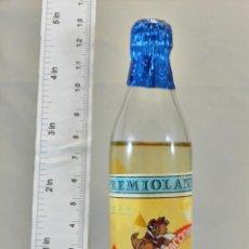 Coleccionismo de vinos y licores: BOTELLITA BOTELLIN ANIS PREMIOLANDIA PARQUE DE ATRACCIONES. Lote 185752857