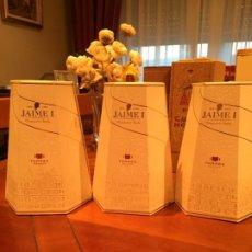 Coleccionismo de vinos y licores: BRANDY JAIME I DE TORRES. LOTE 3 BOTELLAS. Lote 185971216