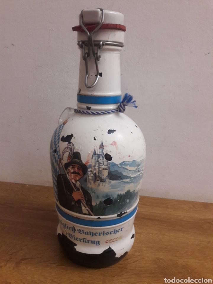 Coleccionismo de vinos y licores: botella alemana - Foto 2 - 185998383