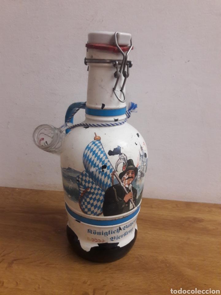 BOTELLA ALEMANA (Coleccionismo - Botellas y Bebidas - Vinos, Licores y Aguardientes)
