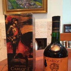 Coleccionismo de vinos y licores: BRANDY CARLOS I SOLERA ESPECIAL DE PEDRO DOMECQ. Lote 186052401