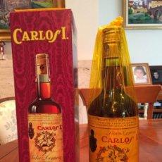 Coleccionismo de vinos y licores: BRANDY CARLOS I SOLERA ESPECIAL DE PEDRO DOMECQ. Lote 186052722