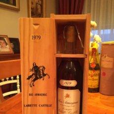Coleccionismo de vinos y licores: ARMAGNAC LABIETTE CASTILLE 1979. Lote 186160923