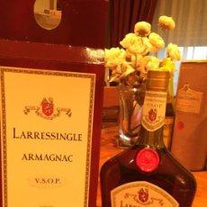 Coleccionismo de vinos y licores: ARMAGNAC LARRESINGLE V.S.O.P. Lote 186161585