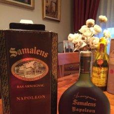 Coleccionismo de vinos y licores: ARMAGNAC SAMALENS NAPOLEON. Lote 186162011