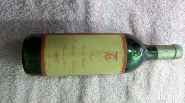Coleccionismo de vinos y licores: Botella vino tinto Rioja reserva añada 1962 - Foto 7 - 186171032
