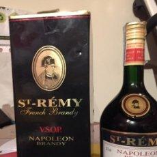 Coleccionismo de vinos y licores: BRANDY FRANCES ST REMY V.S.O.P NAPOLEON. Lote 187113187