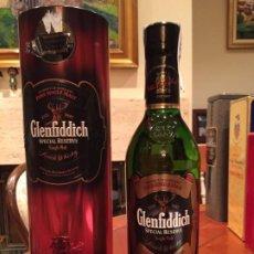 Coleccionismo de vinos y licores: WHISKY GLENFIDDICH SPECIAL RESERVE 12 AÑOS. Lote 187196650