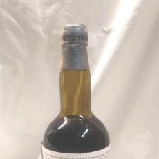 Coleccionismo de vinos y licores: BOTELLLA FUNDADOR ESTILO FINE CHAMPAGNE PEDRO DOMECQ, SELLO 20 CENTIMOS. Lote 189191621