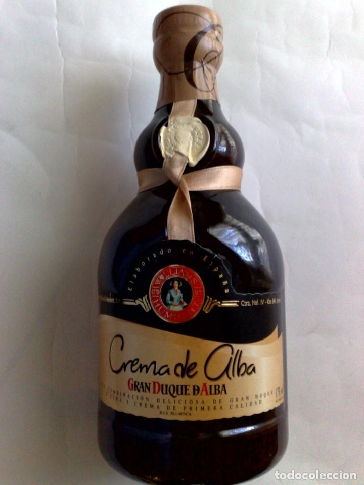 BOTELLA CREMA SUPERIOR DE ALBA (70CL.) 17% VOL.,GRAN DUQUE DE ALBA,SIN DESPRECINTAR (Coleccionismo - Botellas y Bebidas - Vinos, Licores y Aguardientes)