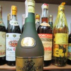 Collezionismo di vini e liquori: ANTIGUA BOTELLA BRANDY COÑAC,NAPOLEÒN TEICHENNE 12 AÑOS. Lote 190134421