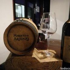 Coleccionismo de vinos y licores: EXPOSITOR PARA BOTELLA DE VINO. Lote 191229928