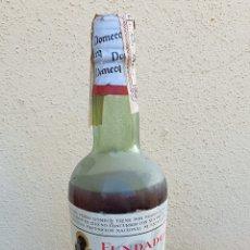 Coleccionismo de vinos y licores: BOTELLA DE BRANDY FUNDADOR SELLO DE 80 CÉNTIMOS. Lote 191538317