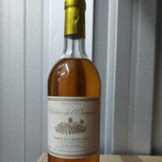 Coleccionismo de vinos y licores: BOTELLA DE VINO DE BORDEAUX CHATEAU DEL'ORANGERI. Lote 191815130