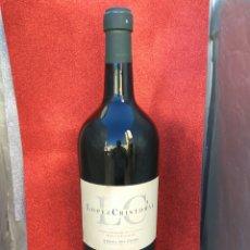 Coleccionismo de vinos y licores: BOTELLA GIGANTE VINO RIBERA DEL DUERO LOPEZ CRISTOBAL 5 L PRECINTADA SIN CONTENIDO. Lote 192050337