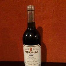 Coleccionismo de vinos y licores: BOTELLA CUNE IMPERIAL RESERVA 1998. Lote 192351916