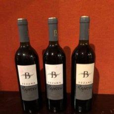 Coleccionismo de vinos y licores: 3 BOTELLAS BEZANA RESERVA 1999 D.O. RIBERA DEL DUERO. Lote 192353911