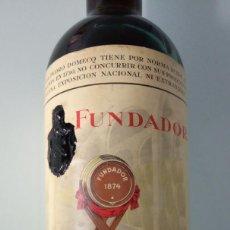 Coleccionismo de vinos y licores: BOTELLA DE COGNAC FUNDADOR DE PEDRO DOMECQ . Lote 192950137