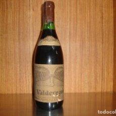 Coleccionismo de vinos y licores: BOTELLA DE VINO VALDEVEGON 1970 VER FOTOS. Lote 193250813