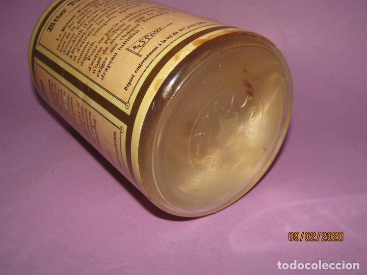 Coleccionismo de vinos y licores: Muy Antigua Botella Vacía de BITTER TUNISIEN Aperitivo Estomacal - Año 1880s. - Foto 4 - 193728168