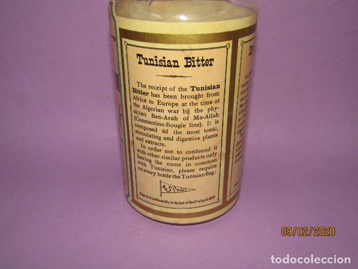 Coleccionismo de vinos y licores: Muy Antigua Botella Vacía de BITTER TUNISIEN Aperitivo Estomacal - Año 1880s. - Foto 7 - 193728168