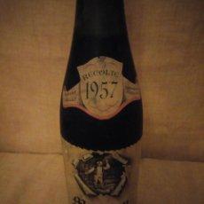 Coleccionismo de vinos y licores: BOTELLA DE VINO MORGON ROMANECHE THORINS ,ALBERT DAILLY RECOLTE 1957. Lote 194089750