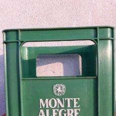 Coleccionismo de vinos y licores: CAJA PLASTICO VINOS MONTE ALEGRE SAVINSA. Lote 194221206
